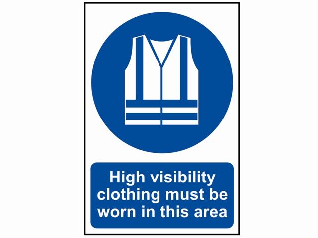 Safety Sign Css0022 High Visiblility Clothing Brighton
