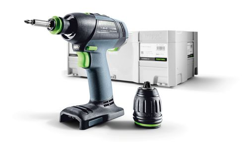 festool t 18 3 18v cordless drill brighton tools and fixings. Black Bedroom Furniture Sets. Home Design Ideas