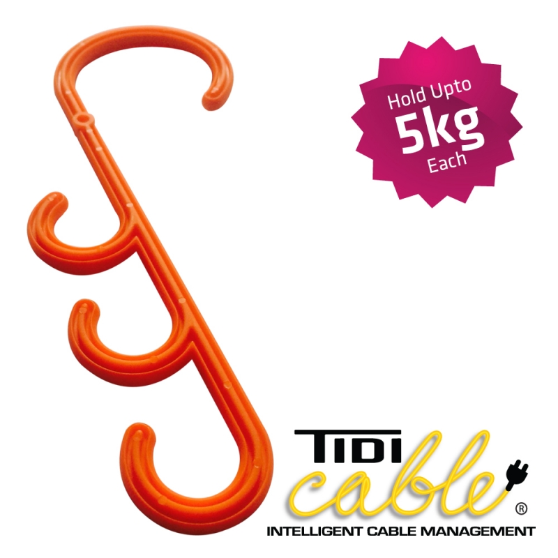 Tidi Cable Tidi Hanger S Hooks Cable Management System