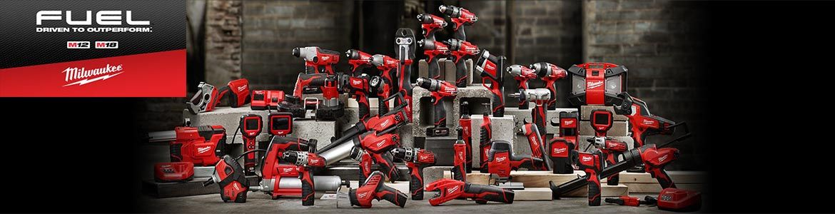 Milwaukee Cordless Power Tools – Brighton Tools are a leading UK provider of Milwaukee tools
