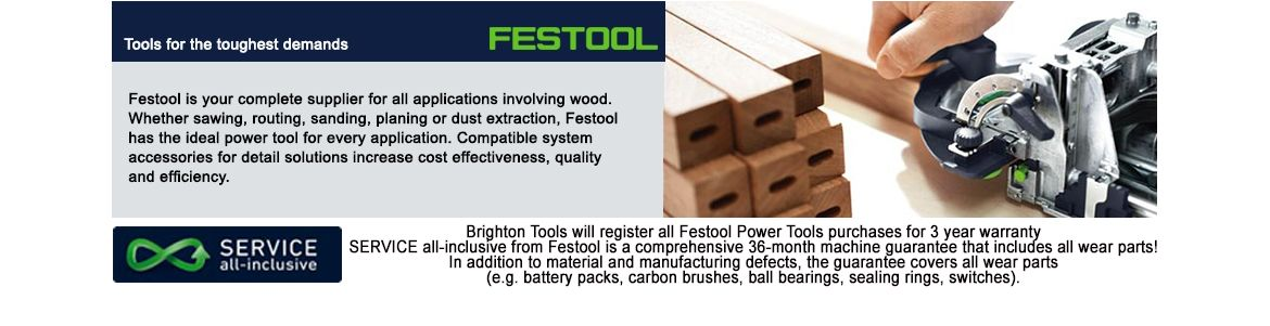 Brighton Tools are a leading supplier of Festool Tools