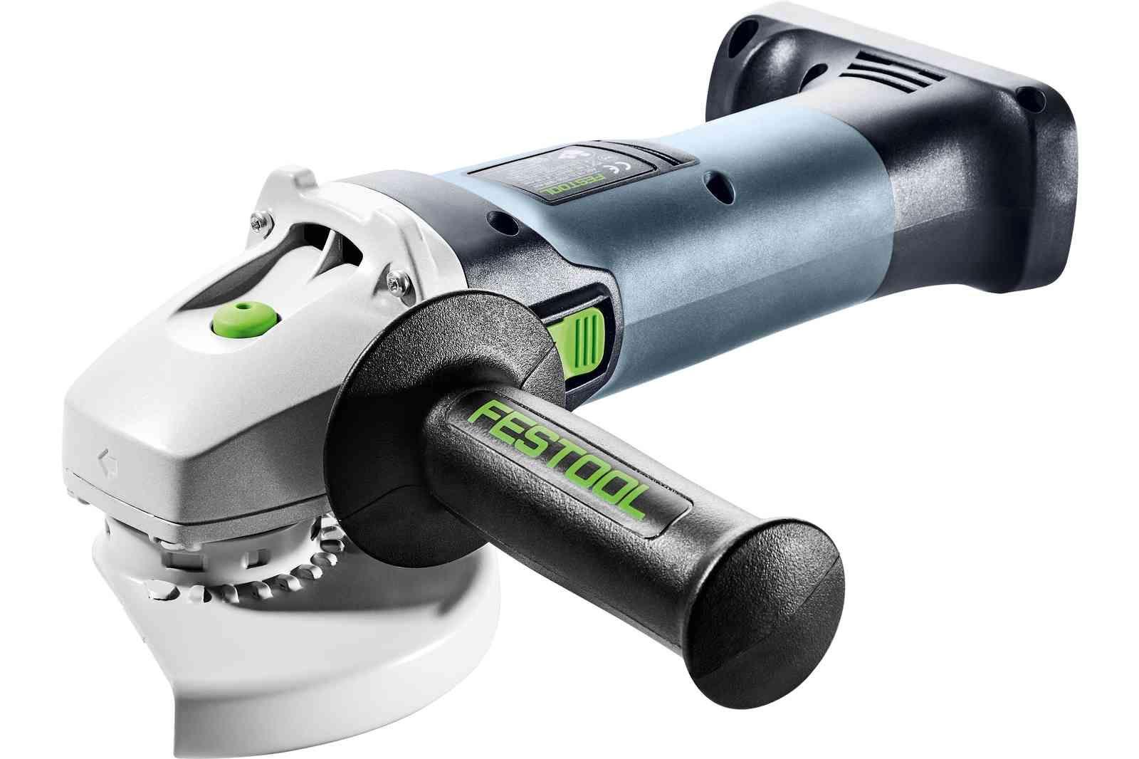 Festool AGC 18 cordless angle grinder: Compact, tough